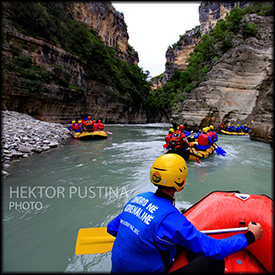 rafting albania safety equipment