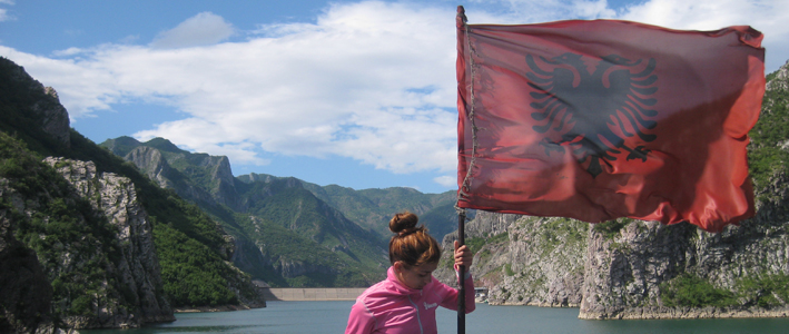 Albanian Flag Ferry Ride